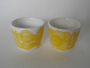 Kurjenpolvi Egg cup 2pcs Marimekko SOLD OUT