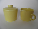 Teema Sugar Bowl and Creamer Arabia