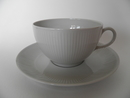 Sointu Tea Cup and Saucer grey Arabia SOLD OUT