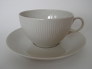 Sointu Tea Cup and Saucer beige Arabia SOLD OUT