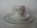 Rosa dumalis Coffee Cup and 2 Plates Arabia SOLD OUT