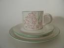 Agrostis tenuis Coffee Cup and 2 plates Arabia SOLD OUT