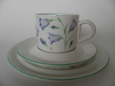 Campanula Rotundifolia Coffee Cup and 2 Plates Arabia SOLD OUT