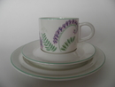 Vicia cracca Coffee Cup and 2 Plates Arabia SOLD OUT