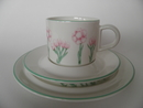 Antennaria dioeca Coffee Cup And 2 Plates Arabia SOLD OUT