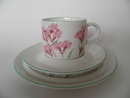 Viscaria vulgaris Coffee Cup and 2 Plates Arabia SOLD OUT