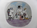 Moomin Wall Plate Birthday Arabia