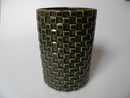 Harlekiini Vase darkgreen Arabia SOLD OUT
