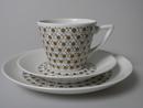 Mekka Coffee Cup and 2 Plates Arabia