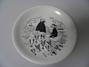 Fisherman small Wall Plate Arabia