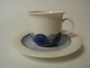 Pudas Arctica Coffee Cup and Saucer Arabia