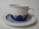 Pudas Arctica Tea Cup and Saucer Arabia