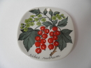 Red Currant Wall Plate Tomula SOLD OUT