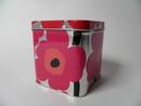 Unikko Tin Box pink Marimekko