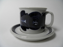 Anemone Cacao Cup and Saucer Arabia SOLD OUT