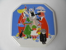 Moomin Wall Plate Who will comfort Toffle