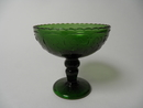 Apila Footed Dessert Bowl darkgreen