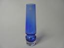 Sininen maljakko Riihimäen lasi