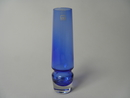 Vase blue Riihimäen lasi