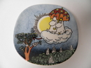 Moomin Wall Plate Moomin in the Sky SOLD OUT