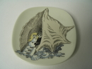 Moomin Wall Plate Toffle and Miffle Arabia SOLD OUT