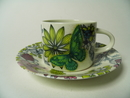 Runo Neitoperho Coffee Cup and Saucer