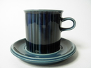 Kosmos blue Cacao Cup and Saucer SOLD OUT