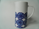 Orange Pitcher blue Marimekko