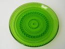 Kastehelmi Plate green 14 cm