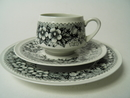 Talvikki Coffee Cup and two Plates Arabia SOLD