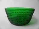 Kastehelmi Serving Bowl green