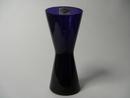 Kartio Vase cobalt blue Franck