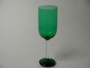 Footed Glass green Nanny Still