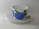 Primavera Coffee cup and Saucher blue