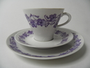 Viola Coffee Cup and 2 Plates Arabia SOLD OUT