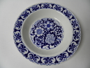 Gardenia blue deep Plate Arabia SOLD OUT