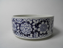 Gardenia Serving Bowl blue small