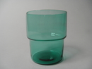 Stackable glass turquoise Saara Hopea
