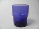 Stackable glass blue Saara Hopea