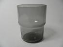 Stackable glass grey Saara Hopea