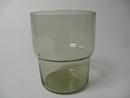 Stackable glass green-greyish Saara Hopea