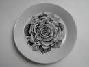 Musta Ruusu salaattilautanen Arabia