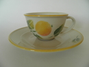 Apple Tea Cup and Saucer Pentik