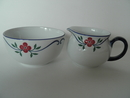 Sundborn Rörstrand Sugar Bowl and Creamer