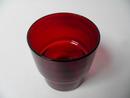 Pinottava lasi rubiininpunainen Saara Hopea