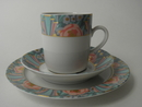 Amoroso Coffee Cup and 2 Plates