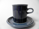 Kosmos blue Coffee cup and Saucer SOLD OUT