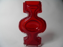 Emma Vase red SOLD OUT