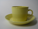 Teema Tea Cup and Saucer yellow SOLD OUT