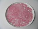 Kurjenpolvi Plate 20 cm pink